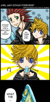 Axel and Roxas Comic