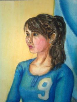 Gurmaa's portrait