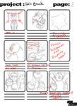 He's Back Storyboard pg 2