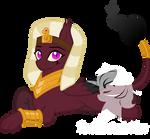 Custom: Sphinx X Sombra Ship