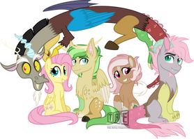 2nd Place Winner: Family Photo part 2/3 by TheArtsyEmporium