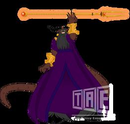 Commission: The Demon King Zazeraad - Vector