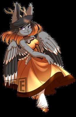 Iris Oath: Halloween Dress - Illustration