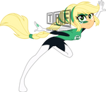 Commission: Applejack as Green Lantern - Vector by TheArtsyEmporium