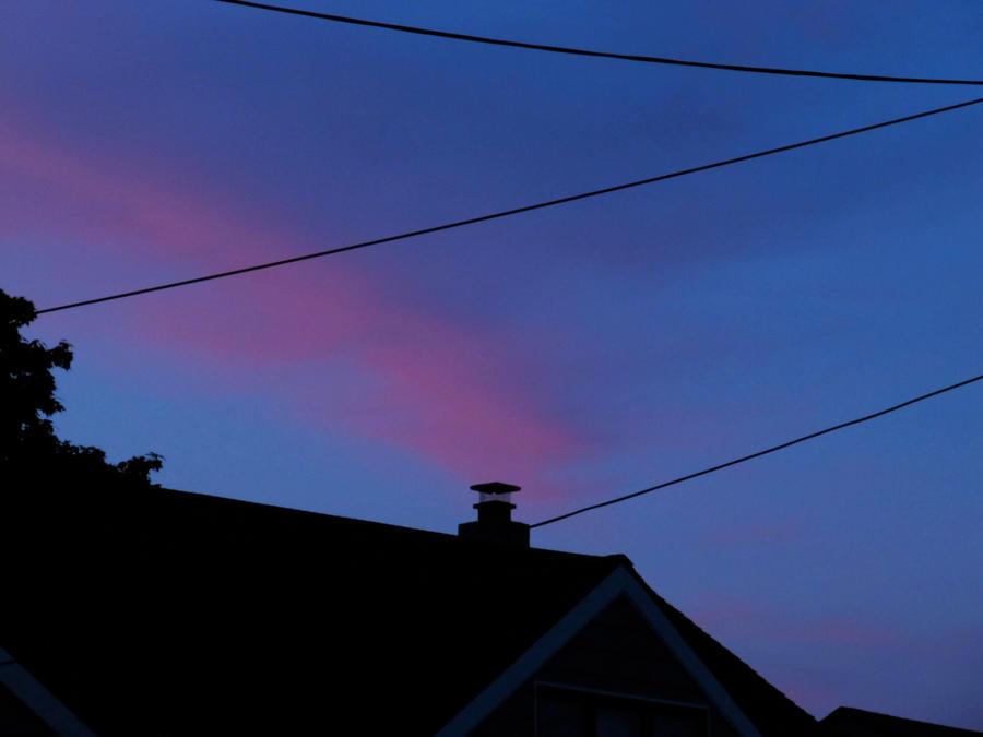 Sunset Chimney by denyEV3RYTH1NG