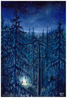 Campfire by Zaronen