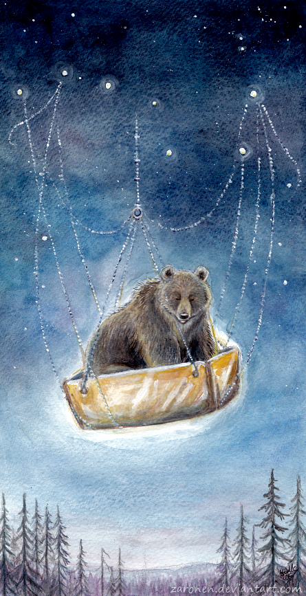 The Birth of the Bear by Zaronen