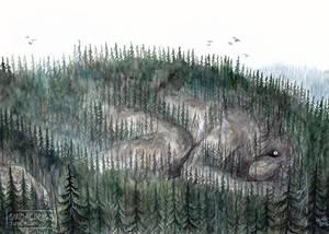 Mountain troll awakens