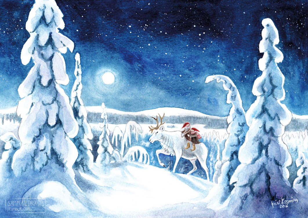 Polar night by Zaronen