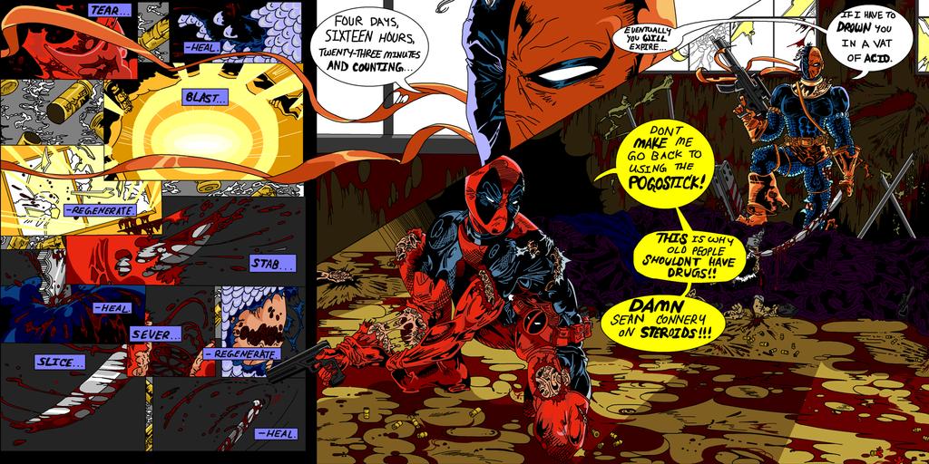 Deadpool Deathstroke C...