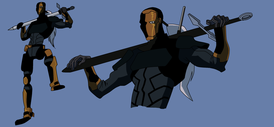 Deathstroke AKA Slade Wilson in Young Justice CLR by ...