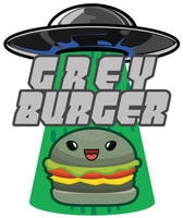 Grey Burger franchise logo by Gunderstorm