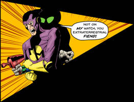Minute Man, Episode 2, panel 4 by Gunderstorm