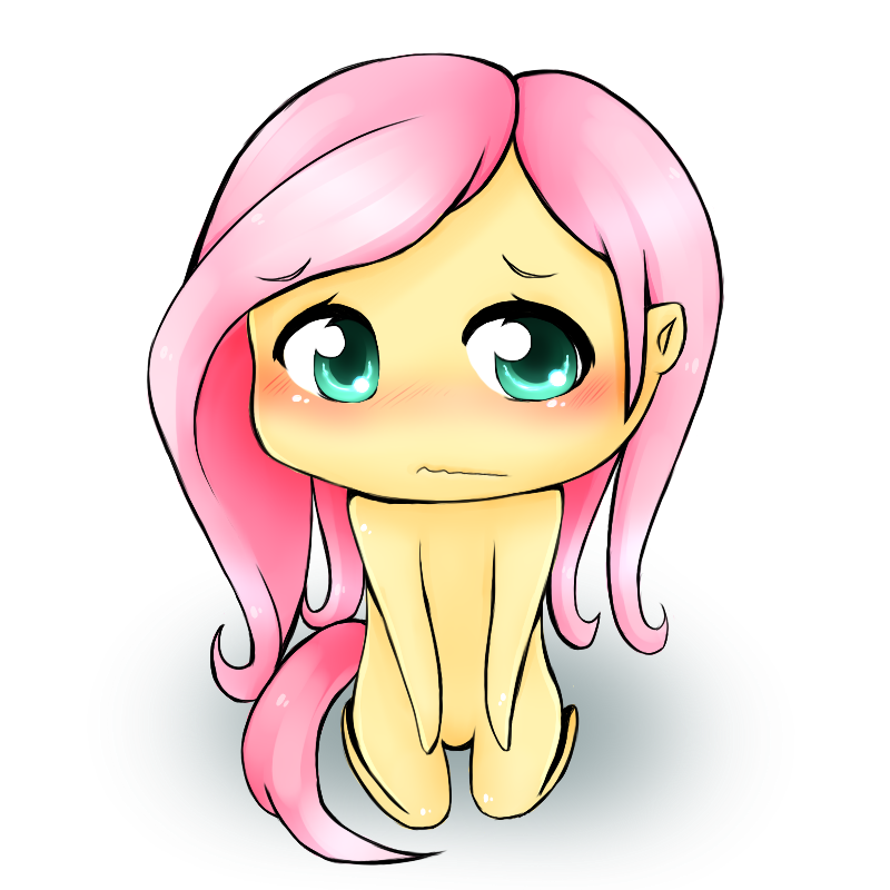 Fluttershy Chibi-- by DaffAngel on DeviantArt