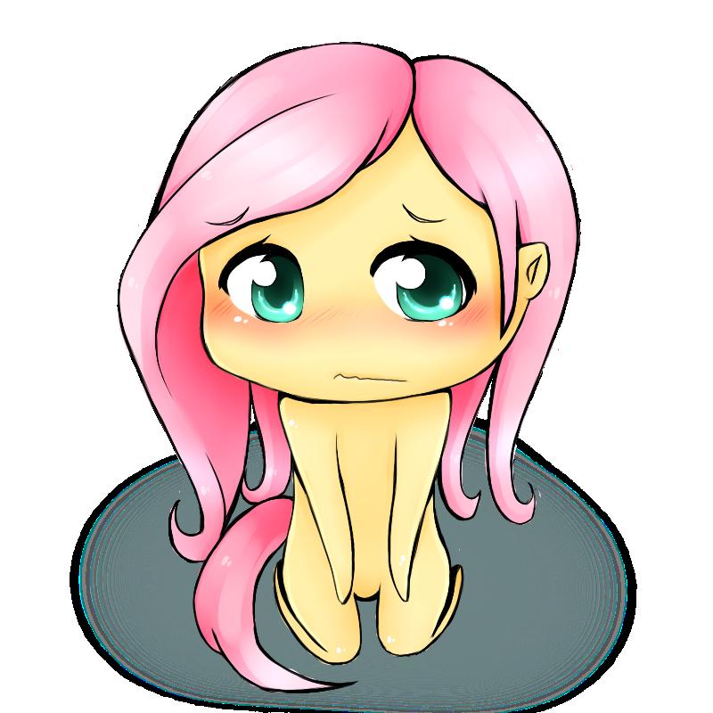Fluttershy Chibi-- by DaffAngel on DeviantArt