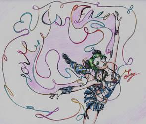 Love is Free (Color) by La-ZorraNaranja