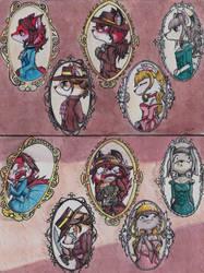 Staff de Vixi Comic by La-ZorraNaranja