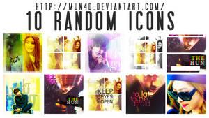 10 Kpop Random Icons