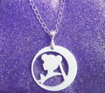 Sailor Moon White Necklace