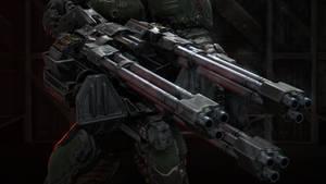 Chaingun: Turret Mod