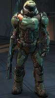 Doomslayer Redux by BlueFlytrap998