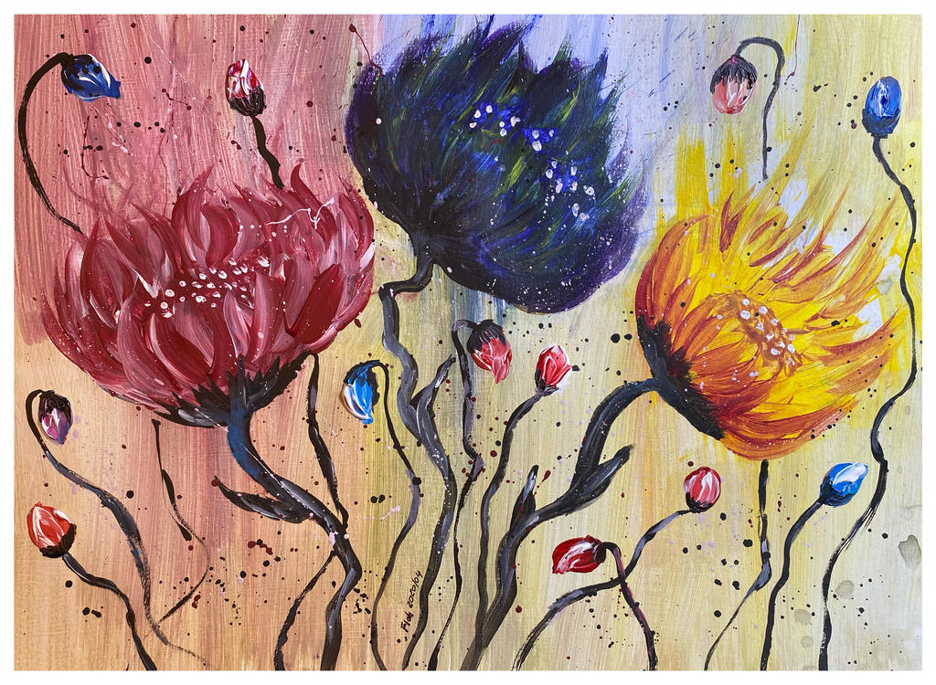 Courage de la vie by floh555