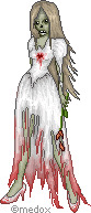 Zombie Bride by Medox-Pixelated