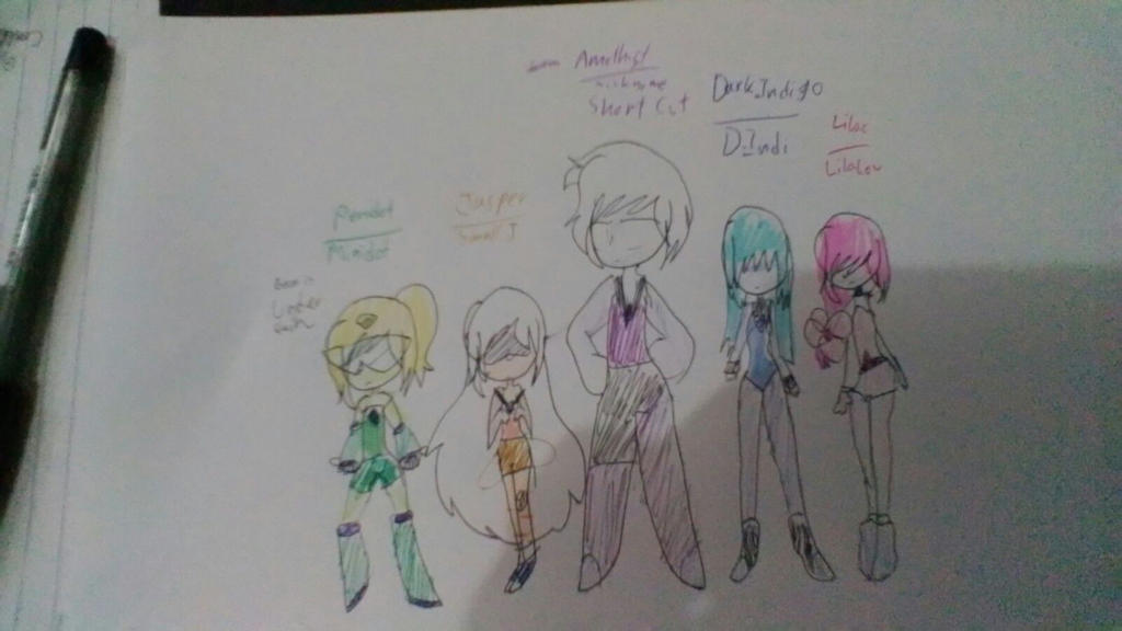 Gem Ocs by CoolGirl0429