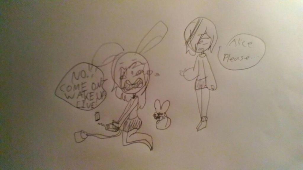 When Alice's IPhone Dies by CoolGirl0429