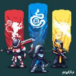 Destiny 2 Pixel Art Guardians!