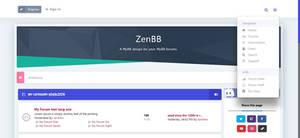 ZenBB - MyBB responsive forum design.