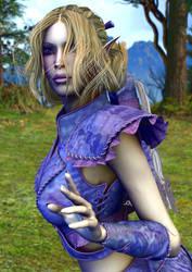 High Elven Guard by Kethaera
