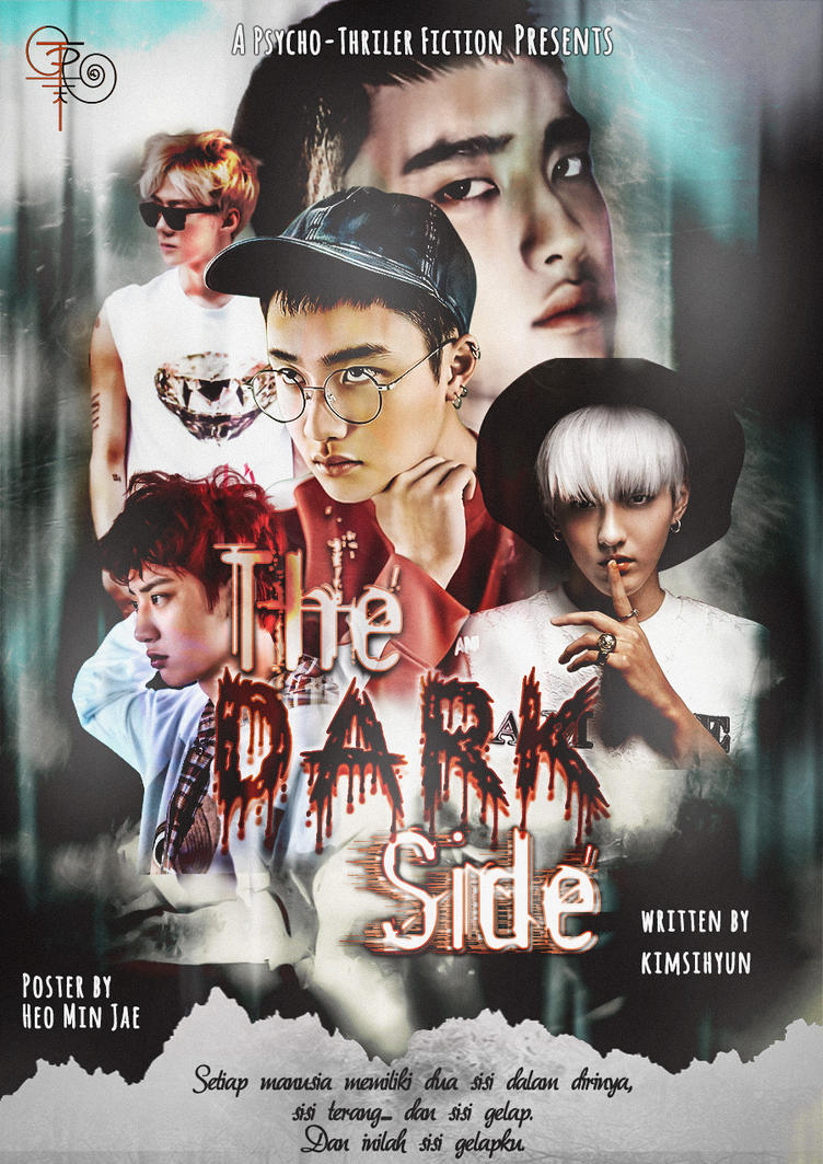 THE DARK SIDE | Fanfiction Cover by heominjae