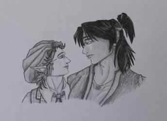 G - Eithne and Isamu (Fanart)