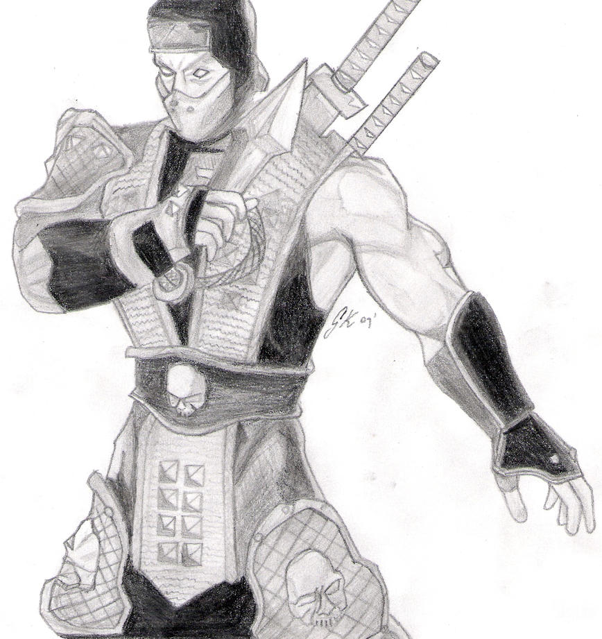 Scorpion - Mortal Kombat by HuntingHorizons on DeviantArt