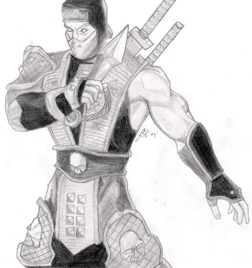 Scorpion - Mortal Kombat by HuntingHorizons on DeviantArt