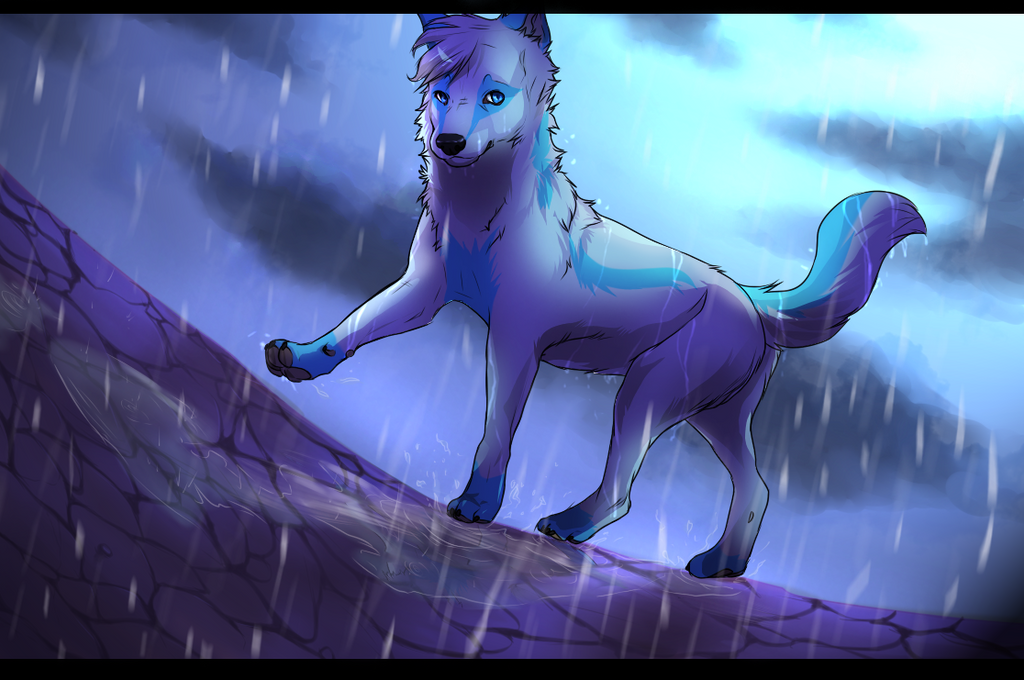 Rain Rain Go Away, Come Back Another Day by Rinermai