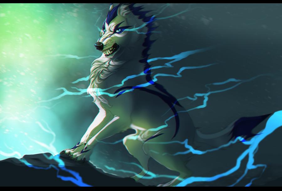 Lightning by Rinermai