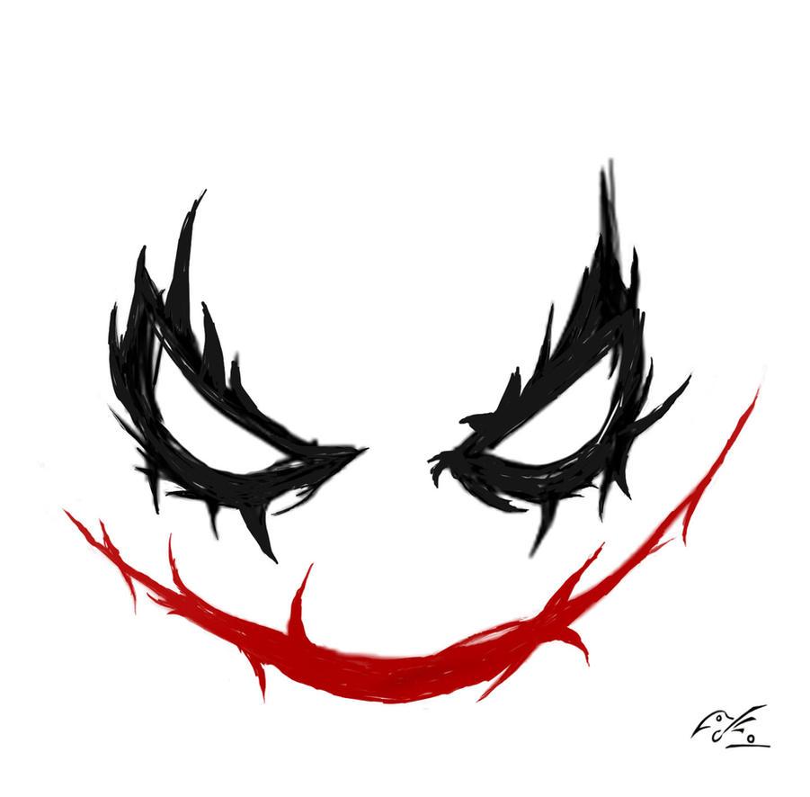 Joker Face Png Joker face png Joker Smile Png