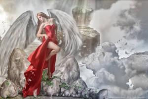 Vaila-the winged maiden by 4istoe3oloto