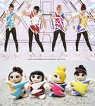 2NE1 Dolls 2 by OrangeKnight