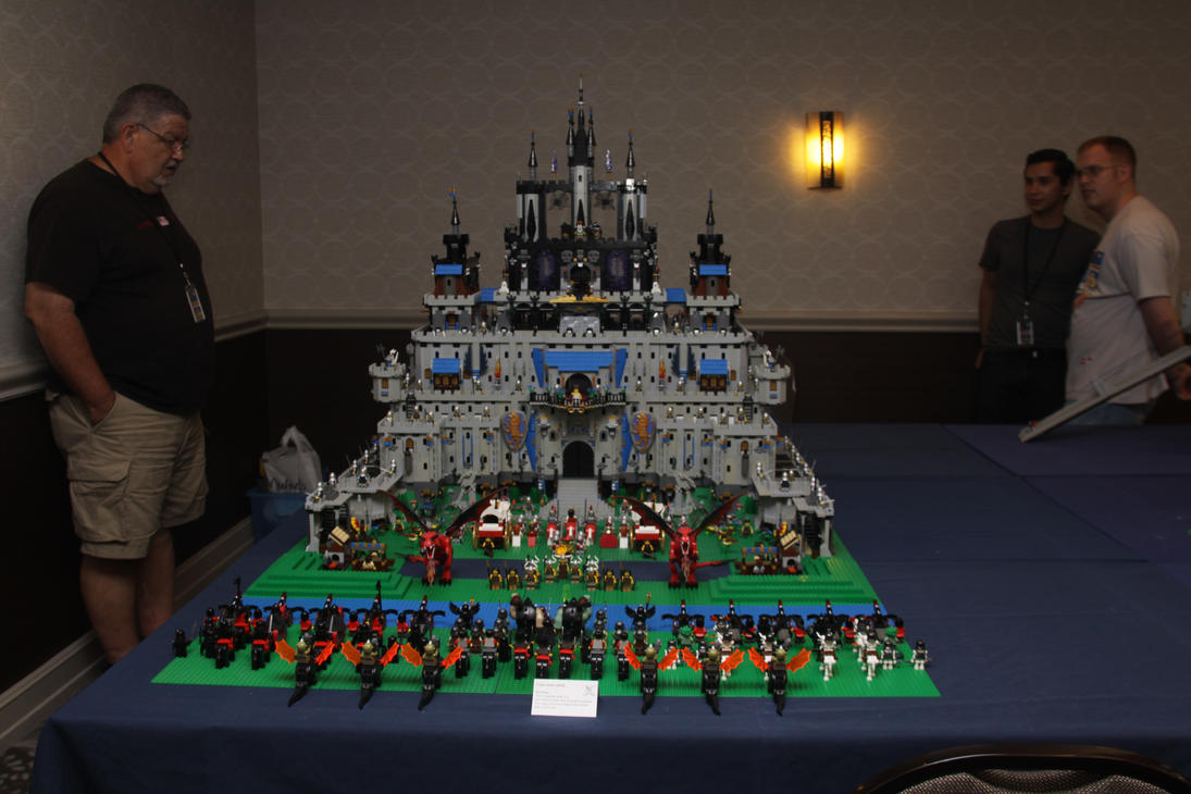 Giant Lego Castle by Dursagon