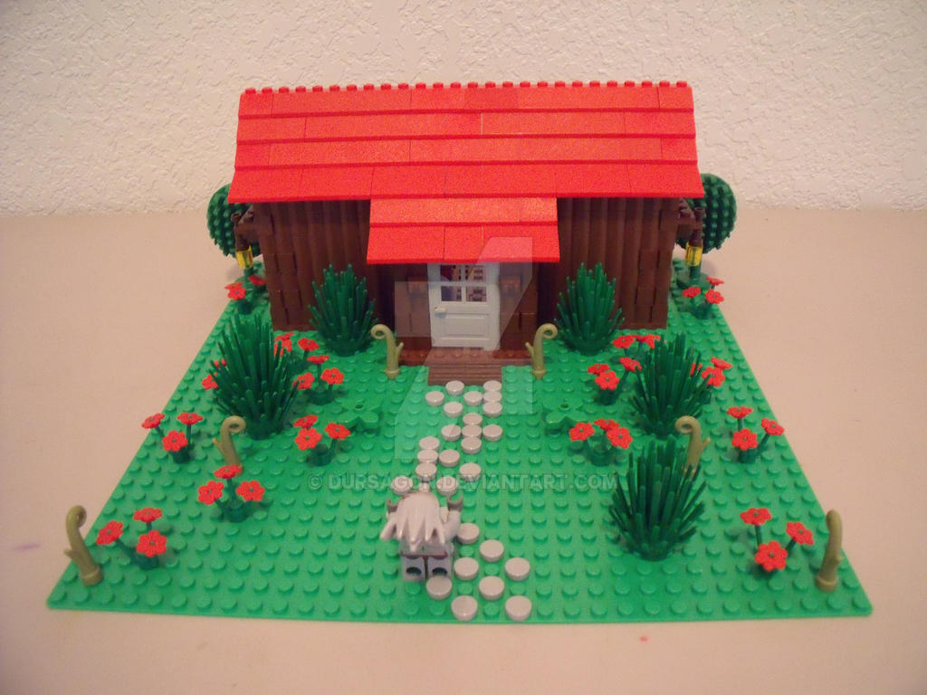 Three Little Pigs Wood Houses
