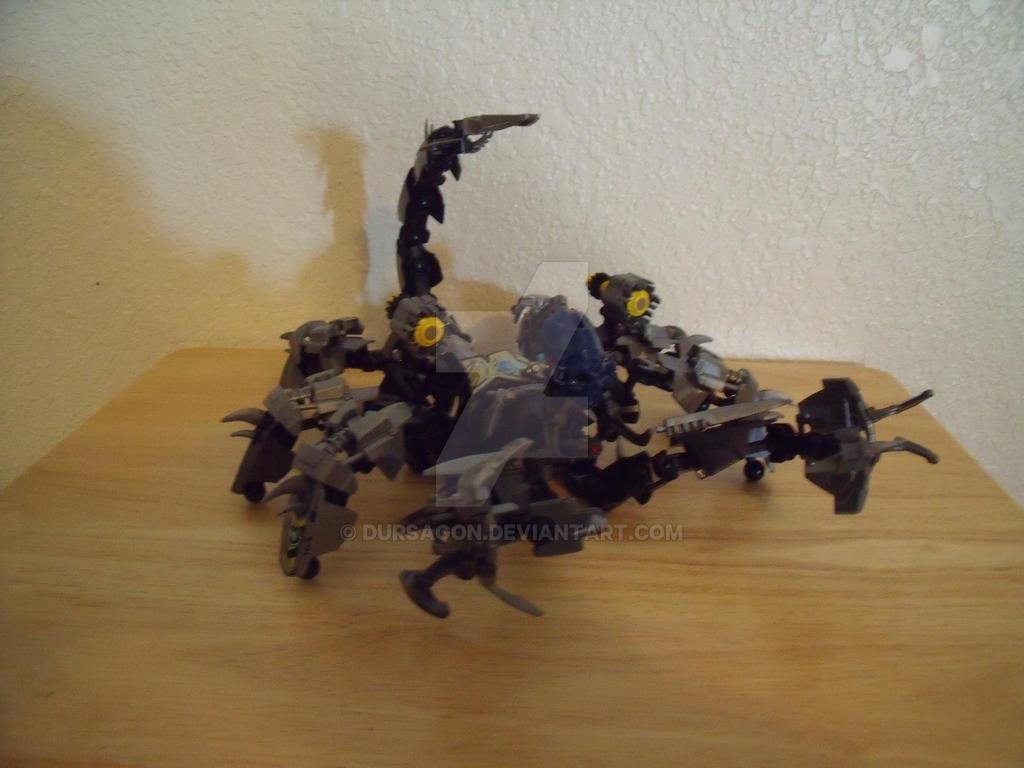 Scorpion Mech by Dursagon
