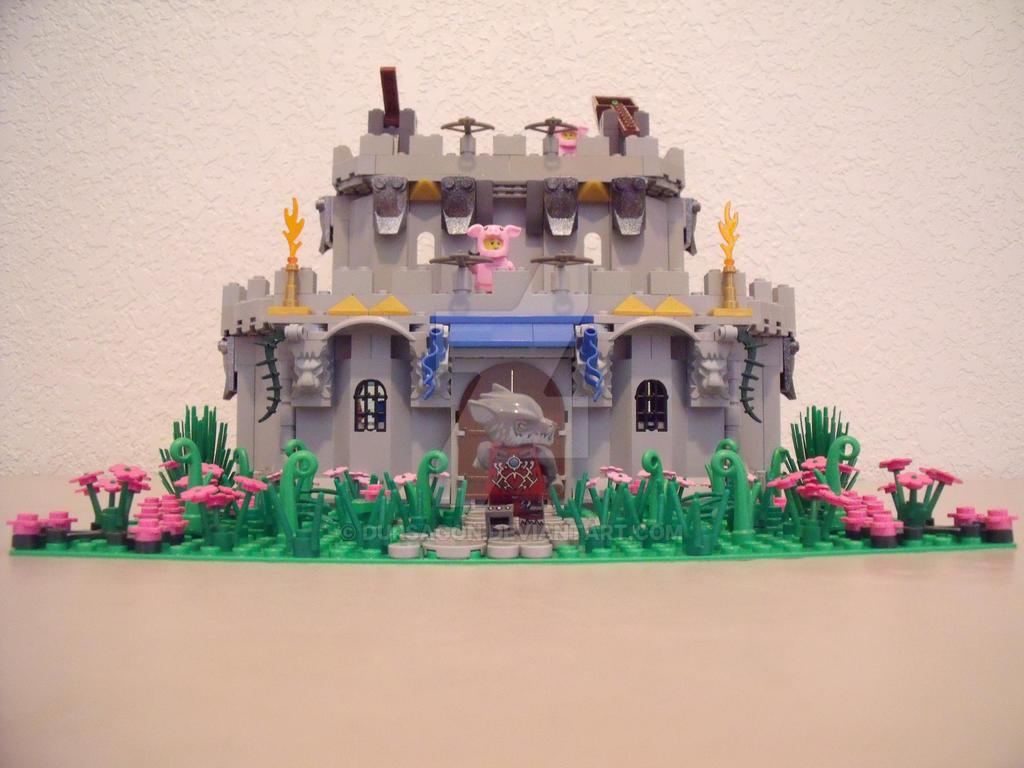 3 Little Pigs Castle by Dursagon