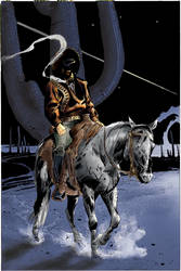 Cisco Kid: Hell's Gate TPB Cover