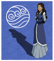 Princess Katara by invisiblejohnny
