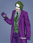 Joker Heath Ledger version