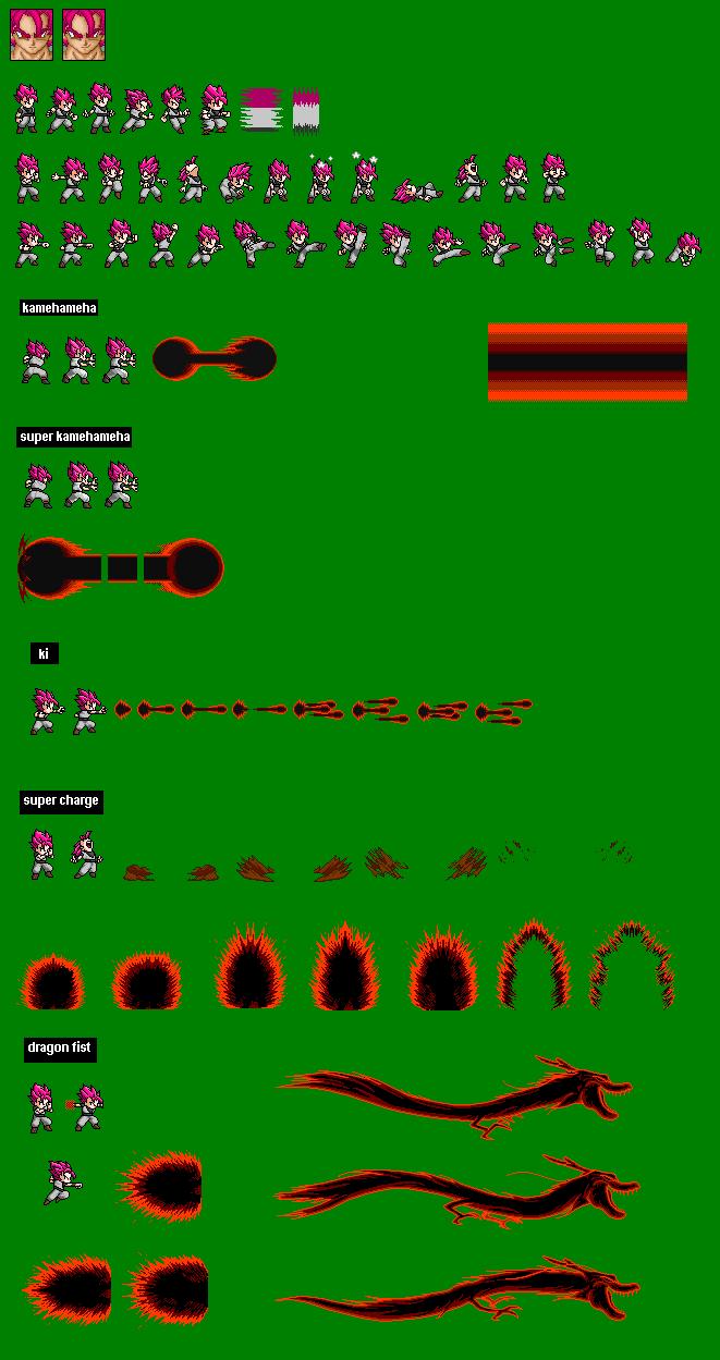 Evil Goku SSJ LSWR Sprite by Prodijiu on DeviantArt | 661 x 1249 png 71kB
