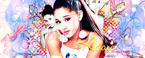 Ariana Grande Sig by UniqueSanity